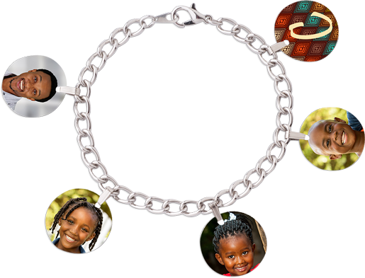 Custom Picture Memories Bracelet gift cute - Custom Allstars