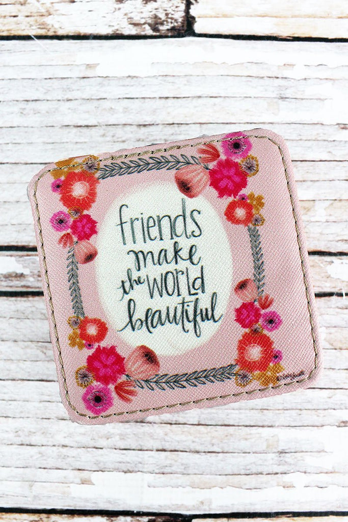 BLING TEAM GIFT - Friends Make The World Beautiful Jewelry Box