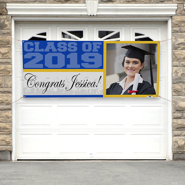 Class Of...Personalized Photo Banner - Custom Allstars