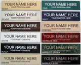 custom Personalized Office Name Plate With Wall or Desk Holder - 2x8 - sign - Custom Allstars