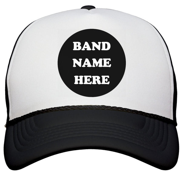 ADD YOUR BAND NAME TO HATS - Custom Allstars