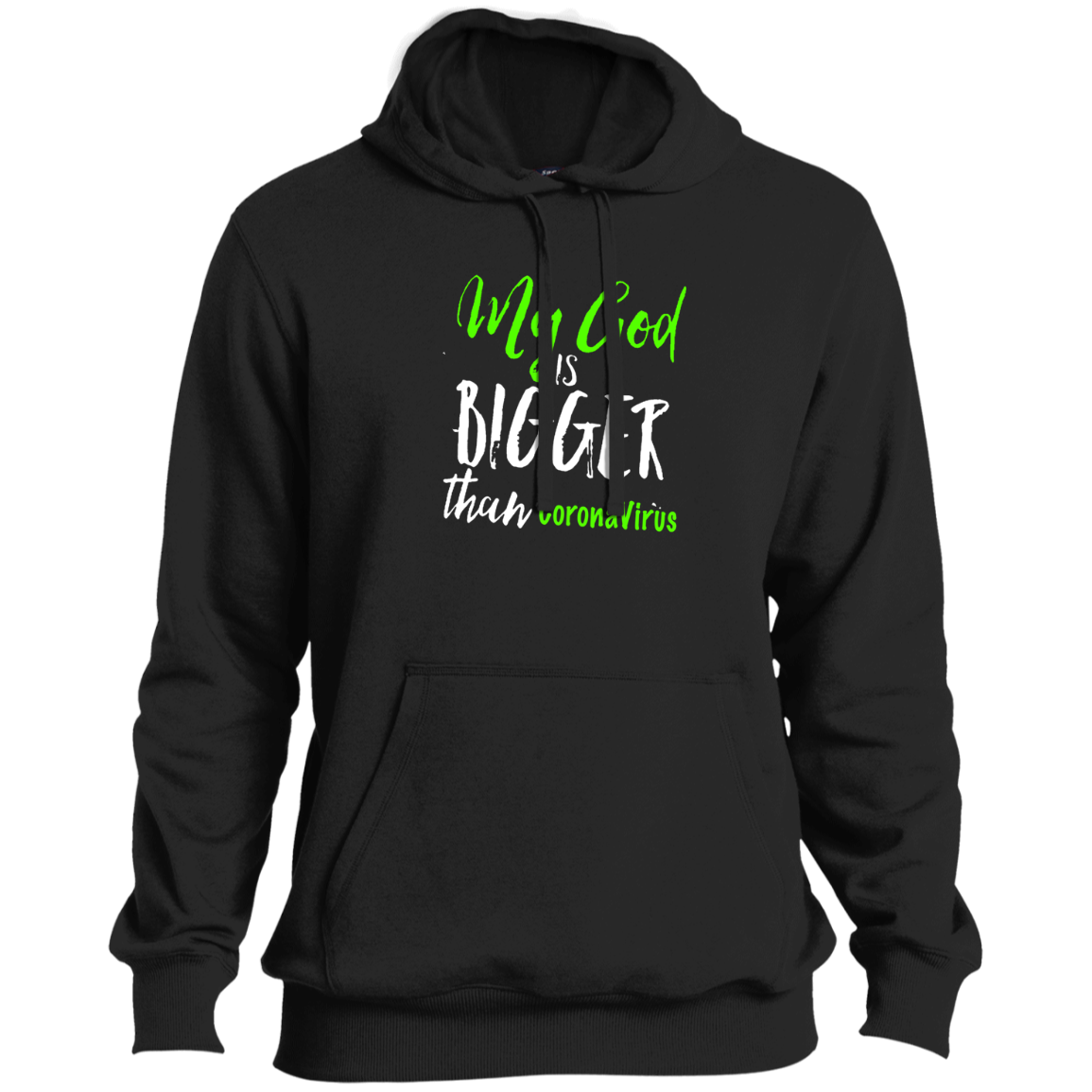 my God is greater Pullover Hoodie - Custom Allstars