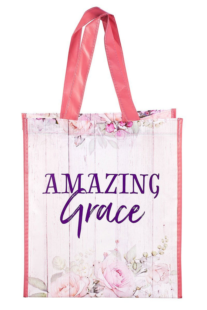 BLING TEAM GIFT - Amazing Grace Floral Tote Bag