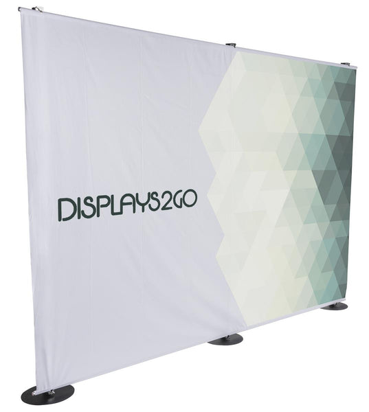 10' Custom Printed Banner for Trade Show Backdrops, Single Sided (x2020) - Custom Allstars