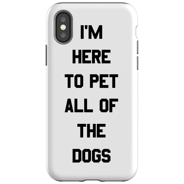 HERE TO PET ALL DOGS DESIGN - Custom Allstars