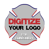 Custom Digitize your logo Design for Embroidery