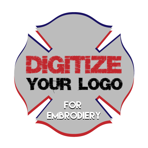 Custom Digitize your logo Design for Embroidery - Custom Allstars