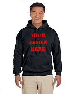Custom uni-sex hoodie Text/Logo Hoodie shirt (Gildan Adult Heavy 50/50 hooded) 2019x - Custom Allstars