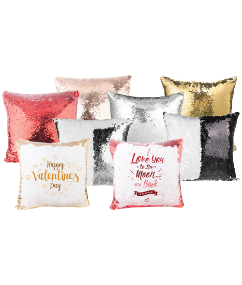 Custom Xclusive Magic sequin pillow cover gift decor - Custom Allstars