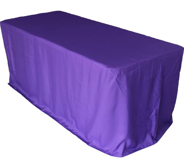 6 Ft Custom Tradeshow Table Cloth Up To 4 Sides Banner