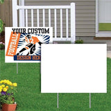Custom Digital Printed Yard Sign(s) 18 by 24 2019x wire stakes included - Custom Allstars