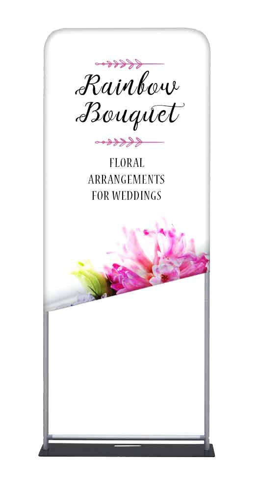 Custom printed Xclusive Fabric banner stand Tradeshow - Custom Allstars