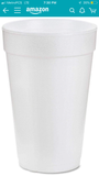 Custom Styrofoam cups vinyl (100) one color - Custom Allstars