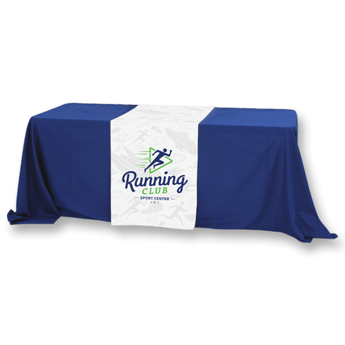 Custom Size Full Color Table Runner banner - Custom Allstars