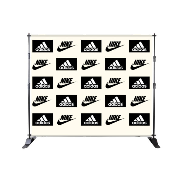 Xclusive Custom Step and Repeat Banner 8 by 8 - Custom Allstars