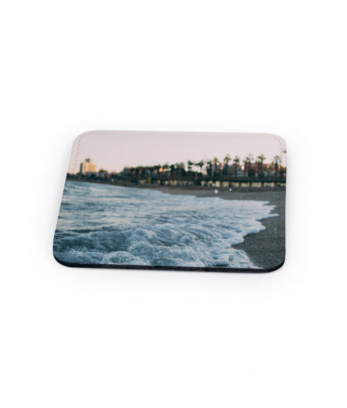 PU LEATHER SQUARE MUG COASTER (x2020) - Custom Allstars