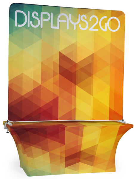 Trade Show Kit w/ Double Sided Custom Graphics, Portable (x2020) - Custom Allstars