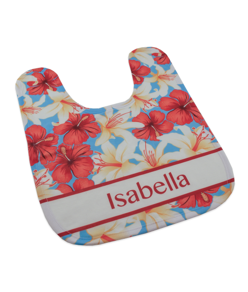 FLEECE BABY BIB (x2020) - Custom Allstars