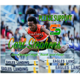 Support Carl keychain- Stockbridge High School Track and Field