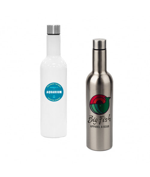 25OZ STAINLESS WINE BOTTLE (x2020) - Custom Allstars