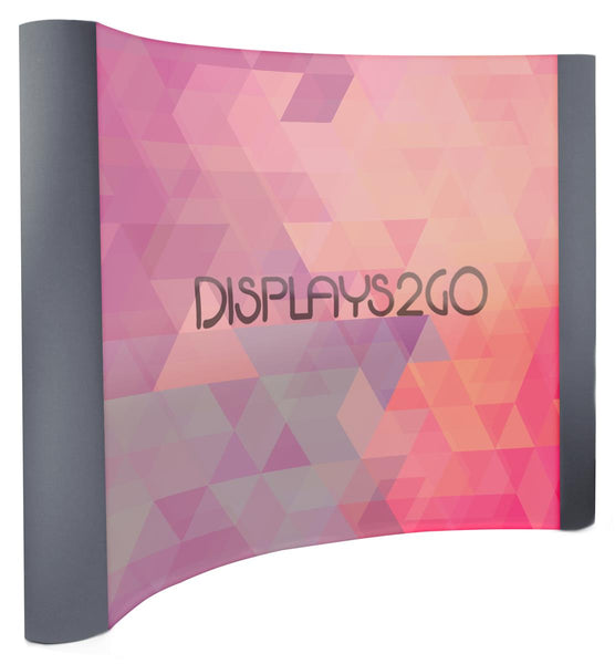 2' Trade Show Display w/ Double-Sided Custom Graphics, Portable (x2020) - Custom Allstars