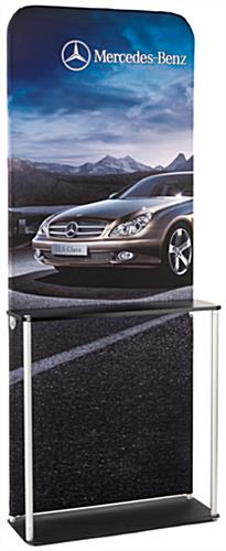 Trade Show Display w/ Custom Printing, Double Sided, Counter, Portable (x2020) - Custom Allstars