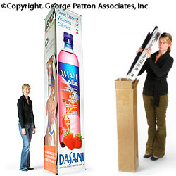 3-sided Banner Stand with (3) 2.5' x 10' Custom Printed Graphics (x2020) - Custom Allstars