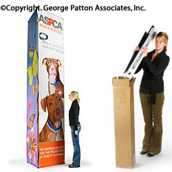 3-sided Banner Stand with (3) 3' x 12' Custom Printed Graphics (x2020) - Custom Allstars