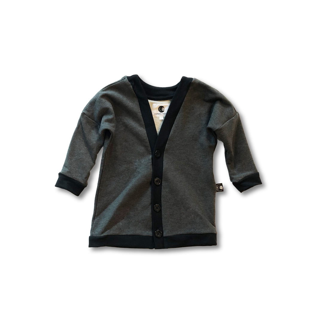 black children's cardigan