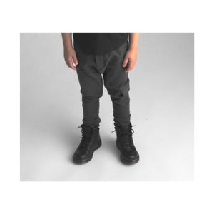 Cargo pant – charcoal French terry