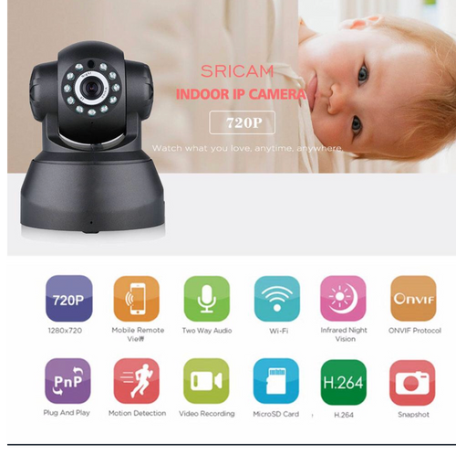 Wireless Home Surveillance Baby Monitor