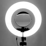 "18"" Ringlight Set Duo Led with Remote"