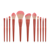 11 Pieces Matte Coral Brush Set🎈