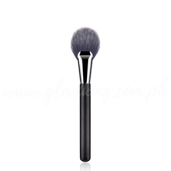 Classic Matte Handle Medium Rounded Fan Brush