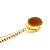Bronze Coated Oval Foundation Brush #03