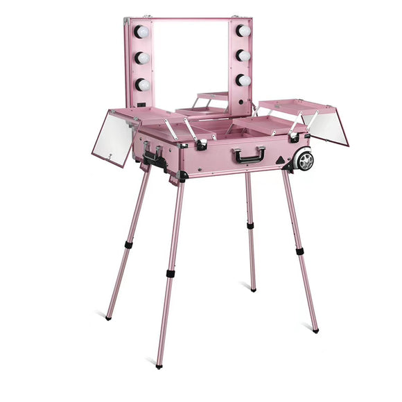 Pink Addict Vanity Makeup Station