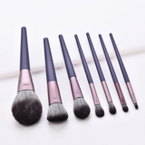 7 Pieces Matthiola Incana Violet Brush set
