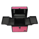 Smart Fuchsia Diamond Case w/ Led Mirror