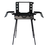 Hard Metallic Black Aluminum Alloy Station AM9341
