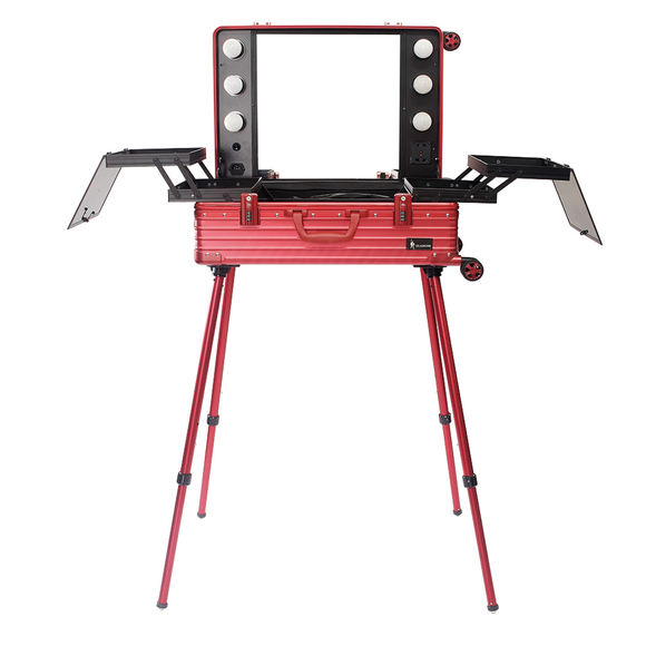 Hard Bloody Red Aluminum Alloy Station AM9341