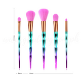 5pcs Gradient Diamond Brush Set