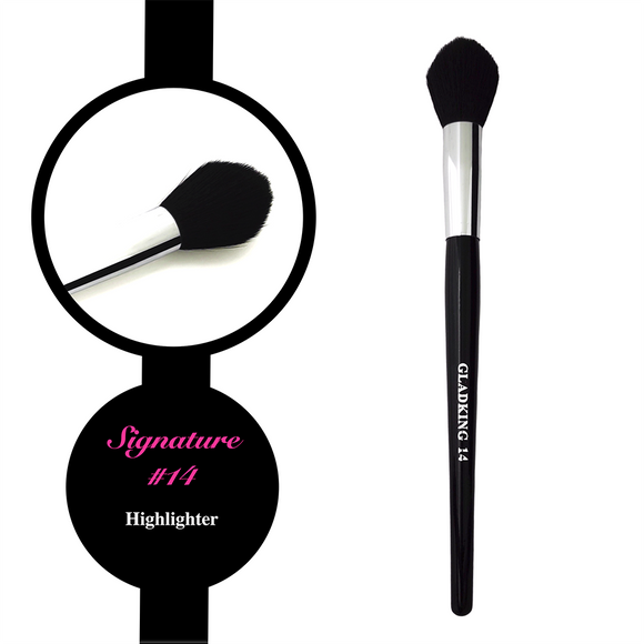 Gladking Signature No.14 Highlighter Brush