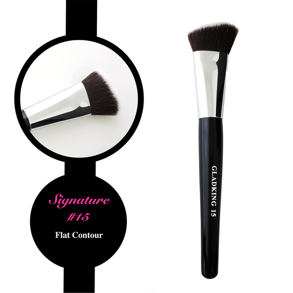 Gladking Signature No.15 Flat Contour Brush
