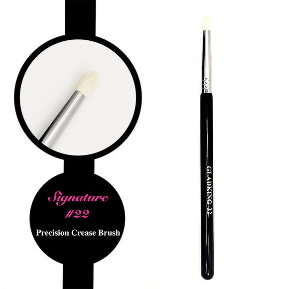 Gladking Signature No.22 Precision Crease Brush