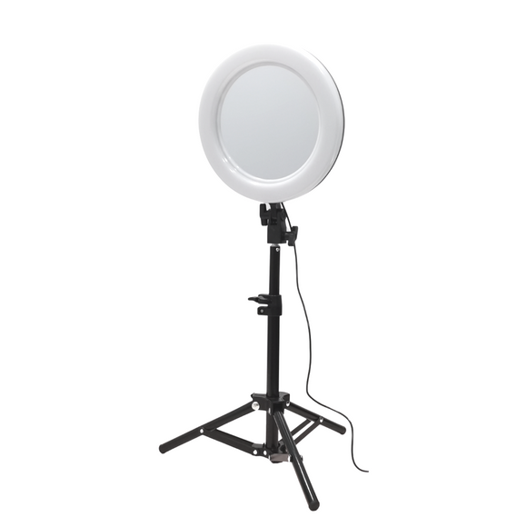 "10"" Ringlight Mirror w/ Tripod"