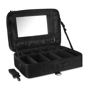 2 Zipper Organizer Jumbo - Black