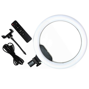 "14"" Ringlight Set Duo Led with Remote"