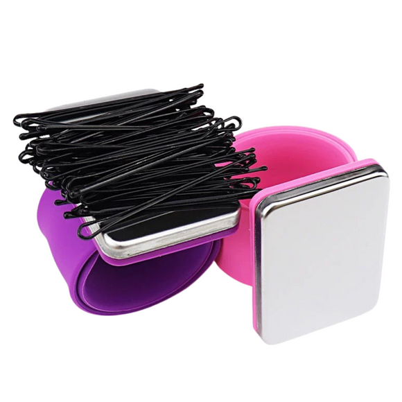 Magnetic Hair Artist Bangle Magnetic Hair Pin Bracelet
