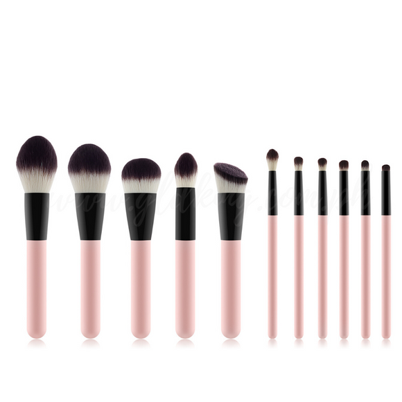 11 Pieces Sandy Makeup Brush Set🎈