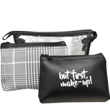 But First Makeup - 3 in 1 Pouch